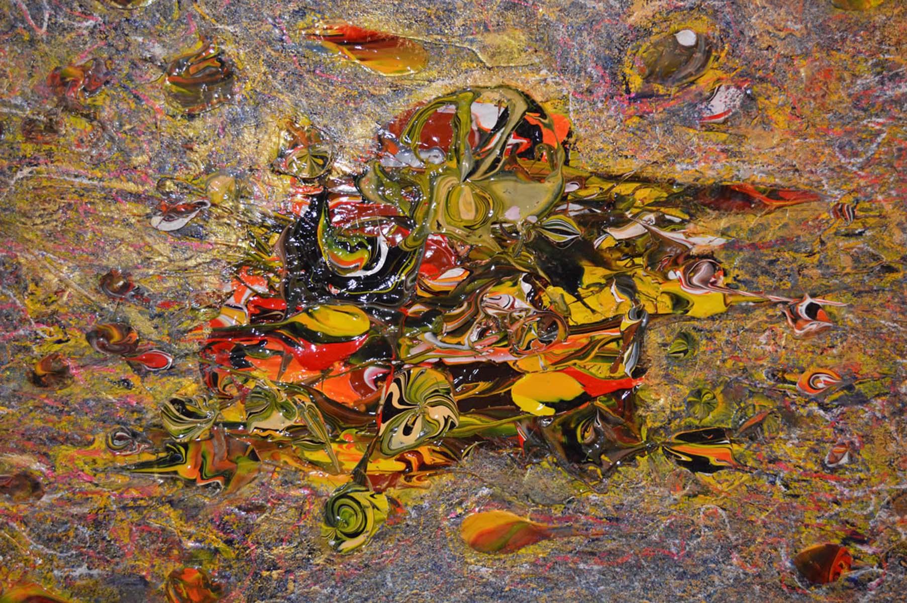 Modern Abstract Expressionism by Keren De Vreede (Painter, The Netherlands)