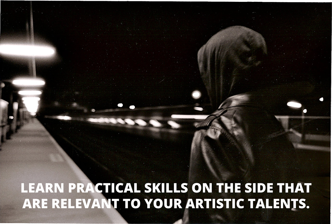 How To Be a Successful Artist While Devoting Most of Your Time to a Full-Time Job