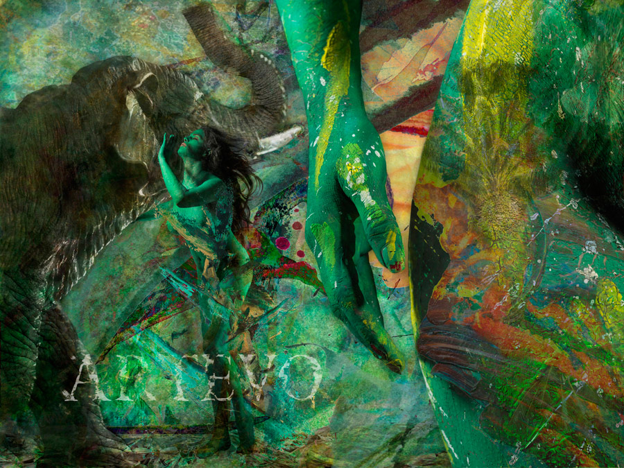Famous Bollywood Star, Veena Malik Poses Nude Covered In Paint In The Name Of Art - Nonsense -1417