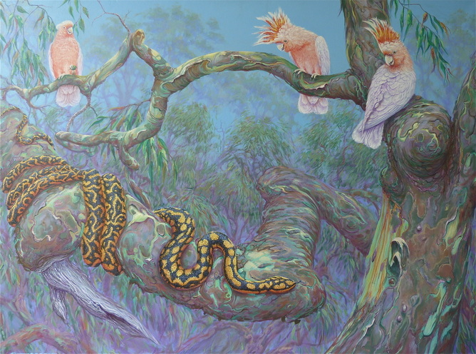 Beautiful Wildlife Paintings by Paul Pettersson (Australia)