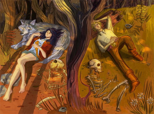 Vibrant Fantasy Illustrations by Amanda Boucher